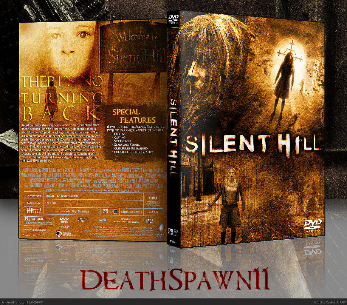 Silent Hill box cover