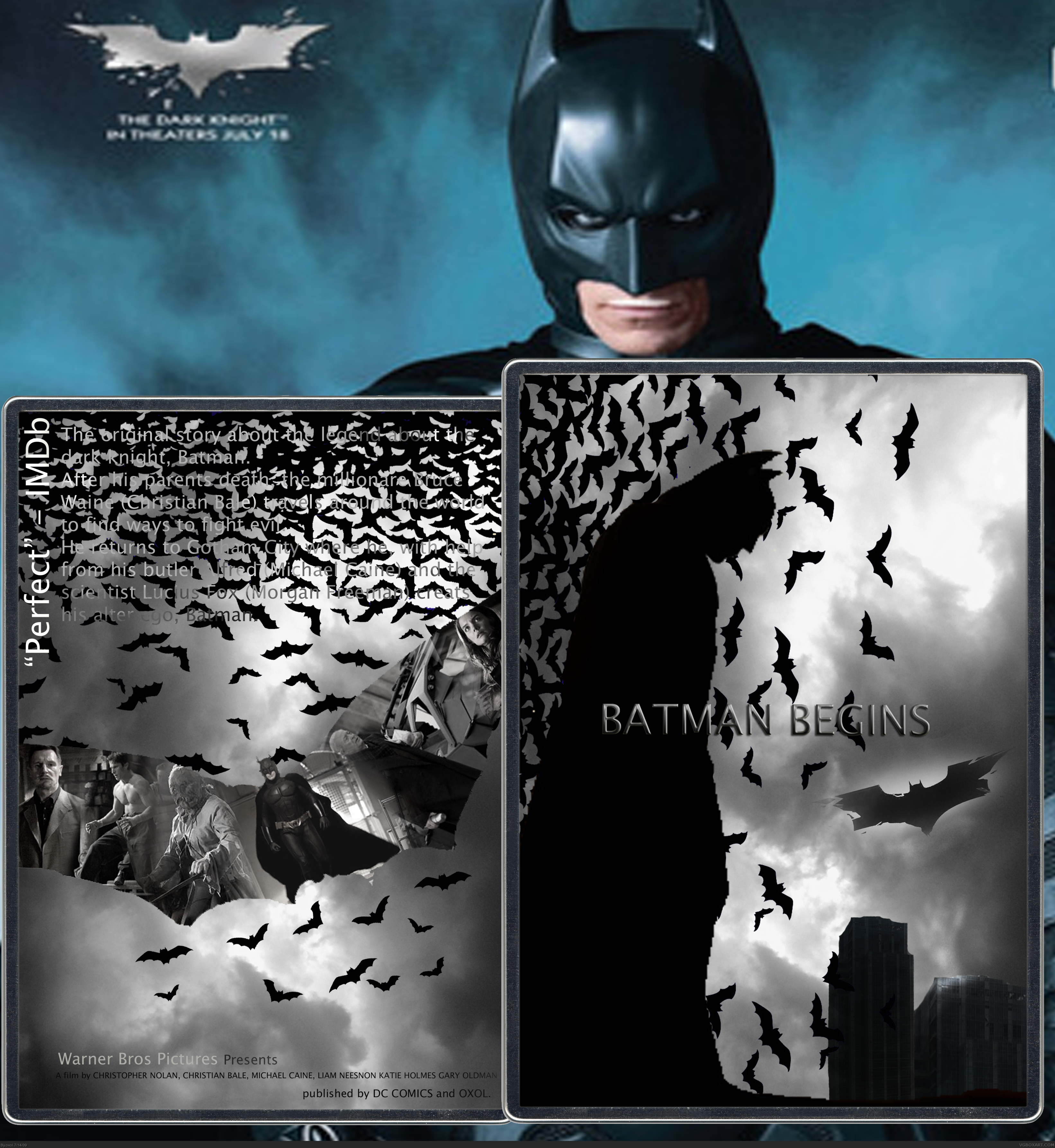 Batman Begins box cover