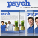 Psych: The Complete Second Season Box Art Cover