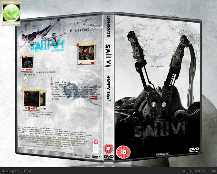SAW VI box art cover