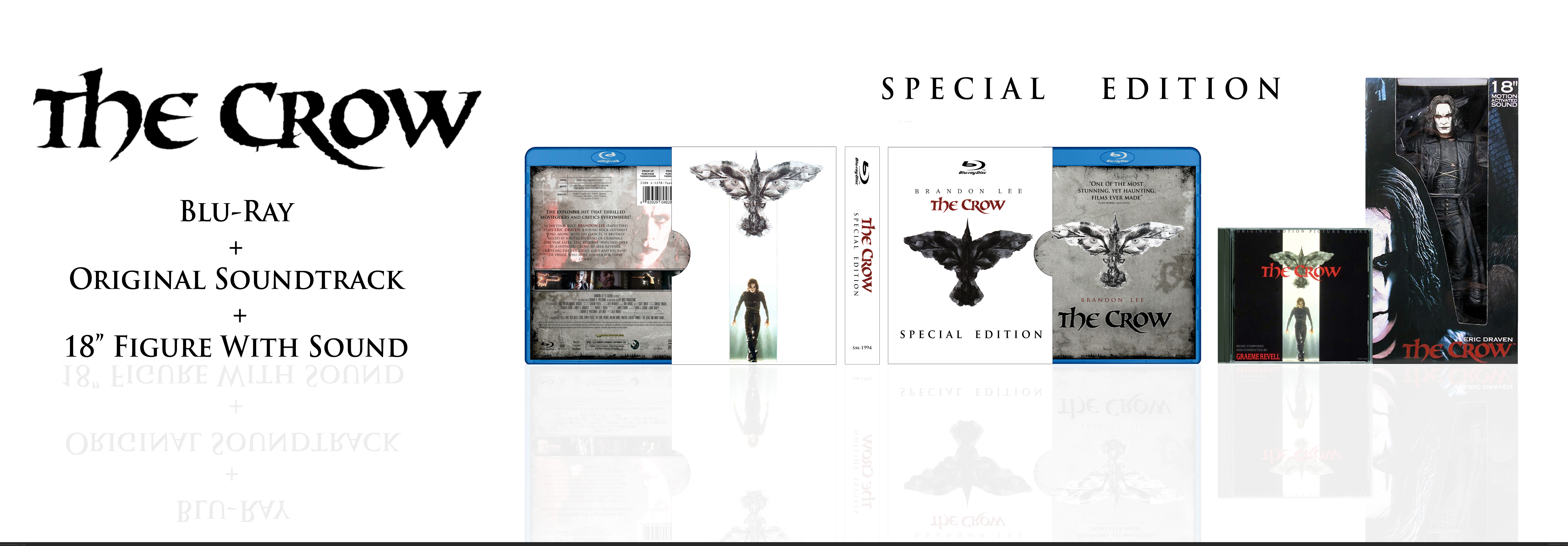 The Crow: Special Edition box cover