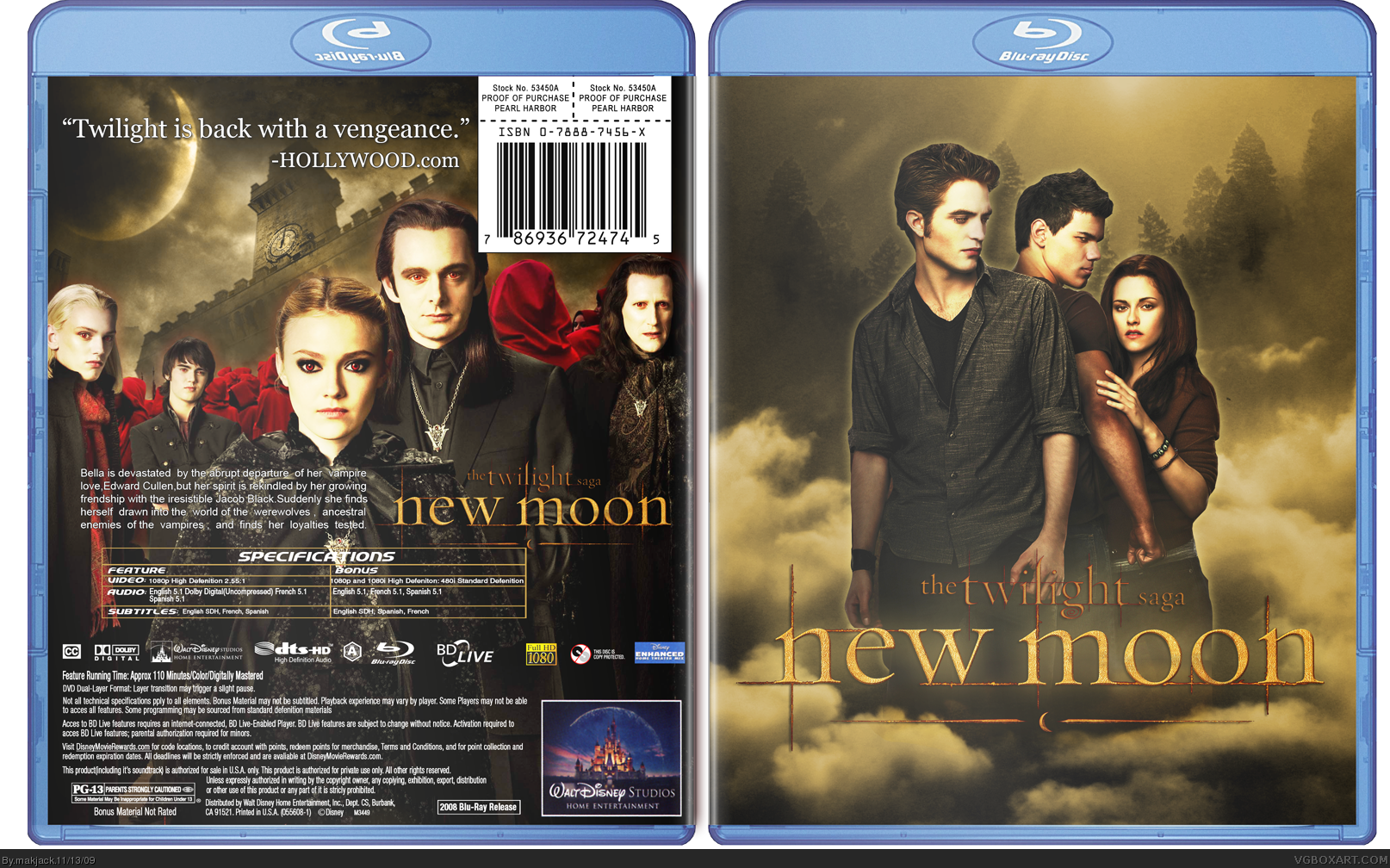 New Moon box cover