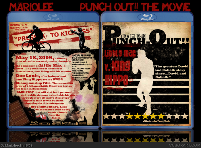 Punch Out!! The Movie box art cover