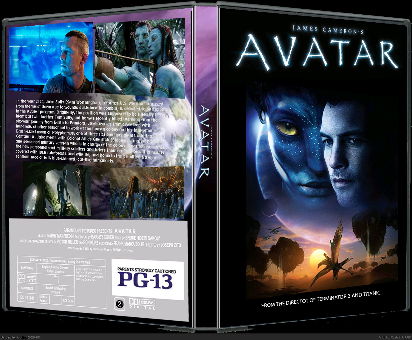 James Cameron's Avatar box cover
