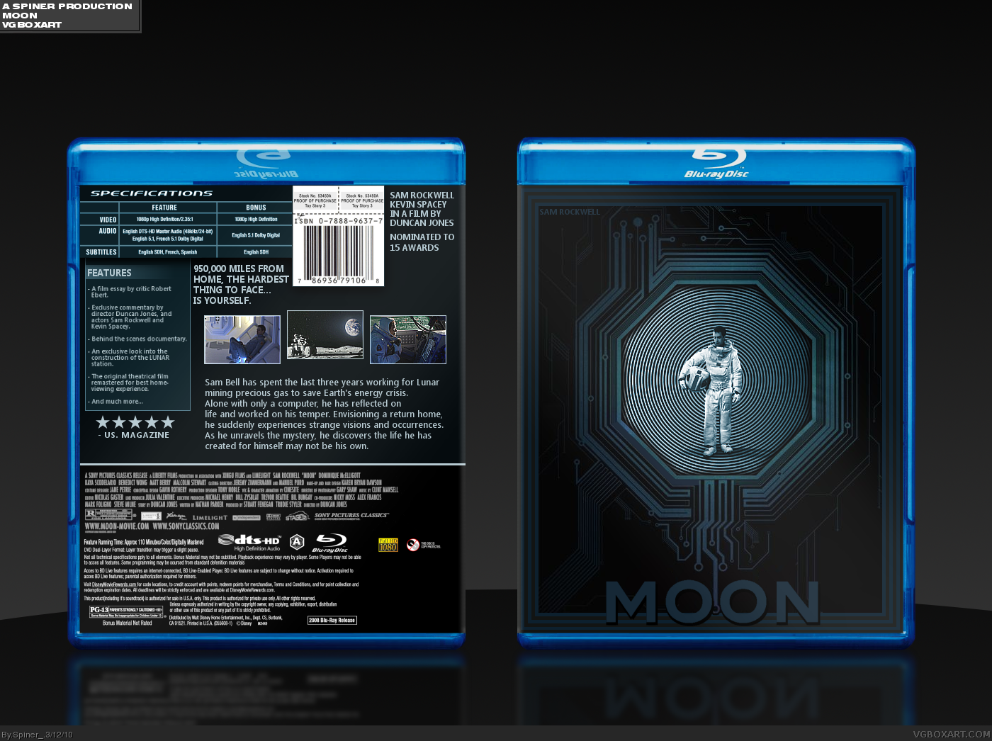 Moon box cover