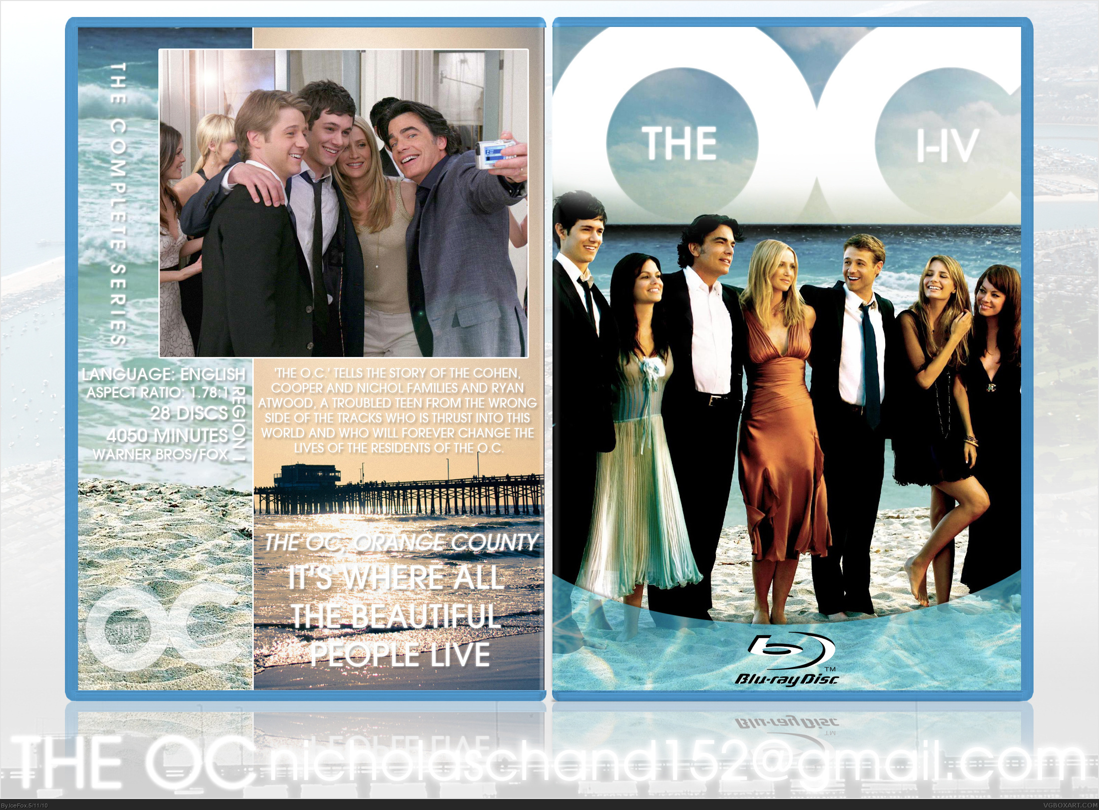 The OC: The Complete Series box cover