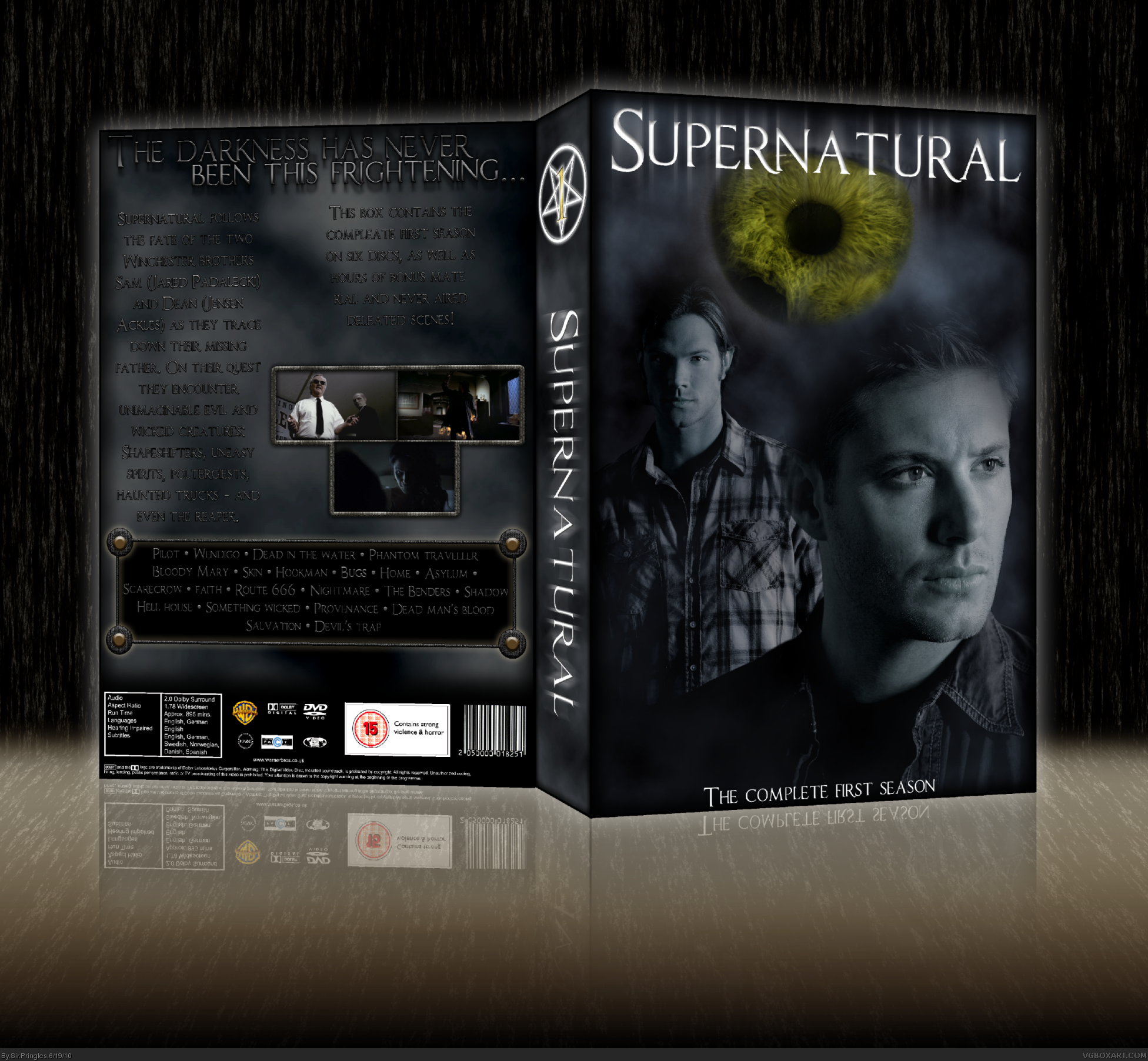 Supernatural - Season 1 box cover