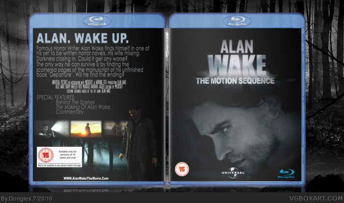 Alan Wake The Motion Sequence box art cover