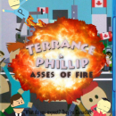 Terrance and Phillip: Asses of Fire Box Art Cover