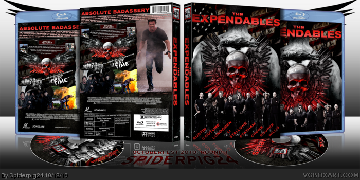 The Expendables box art cover