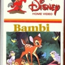 Bambi (Video) Box Art Cover