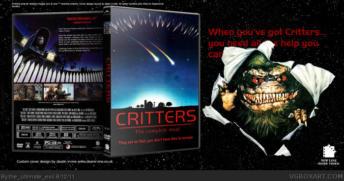 Critters box art cover