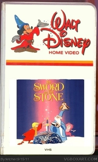Sword in the Stone, The box cover