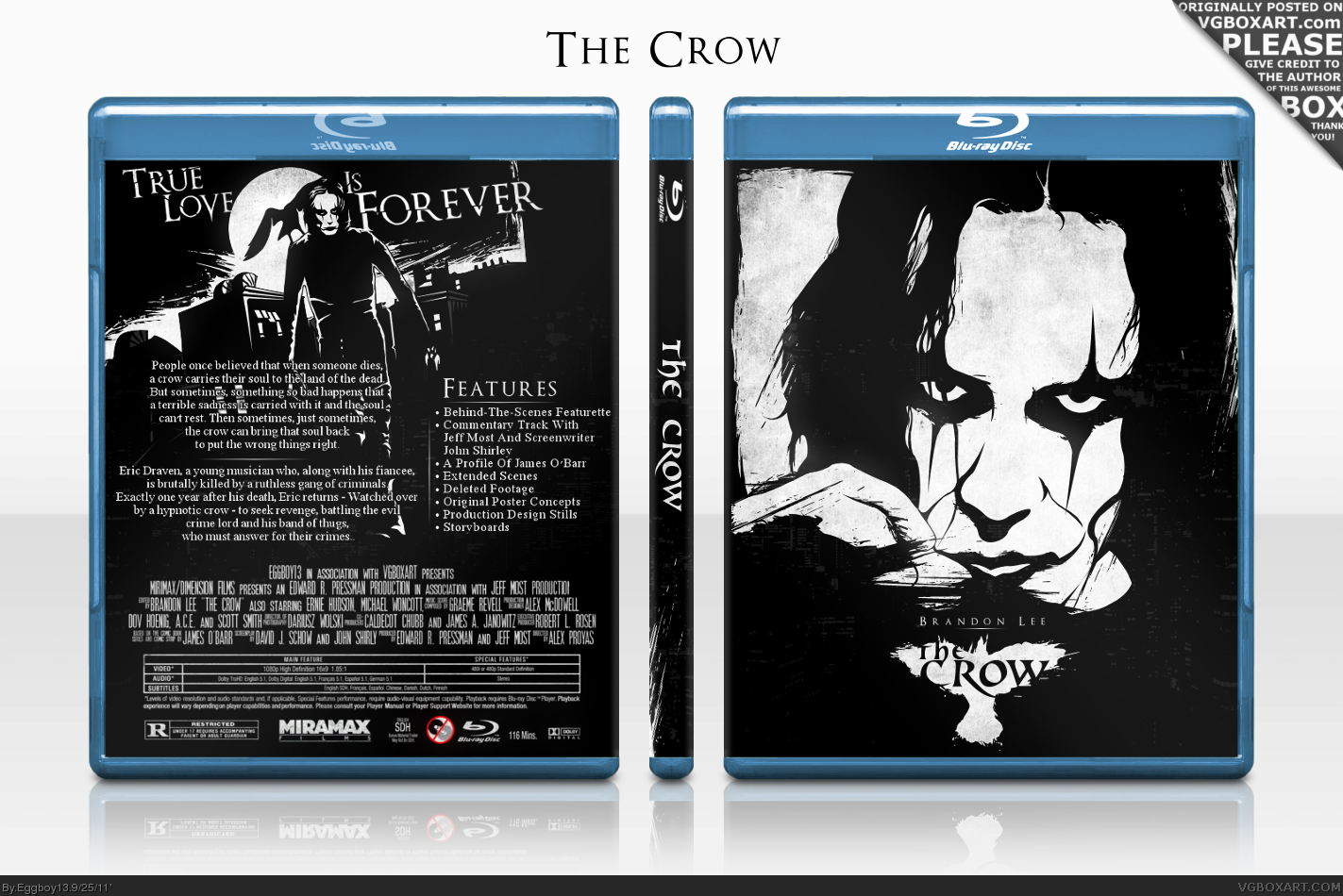 The Crow box cover