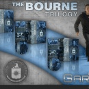 The Bourne Trilogy Box Art Cover