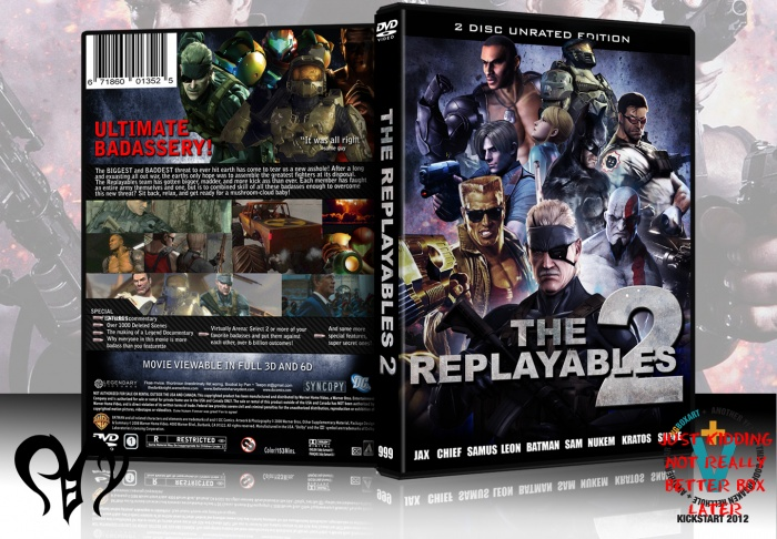 The Replayables 2 box art cover