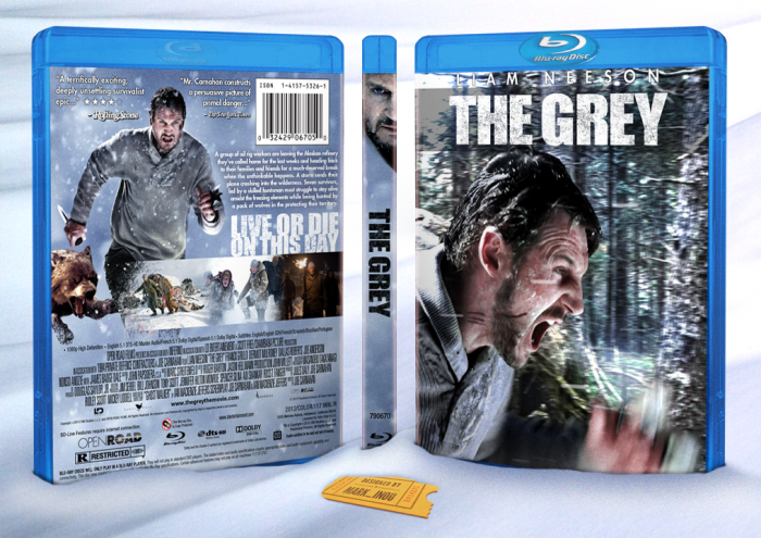 The Grey box art cover
