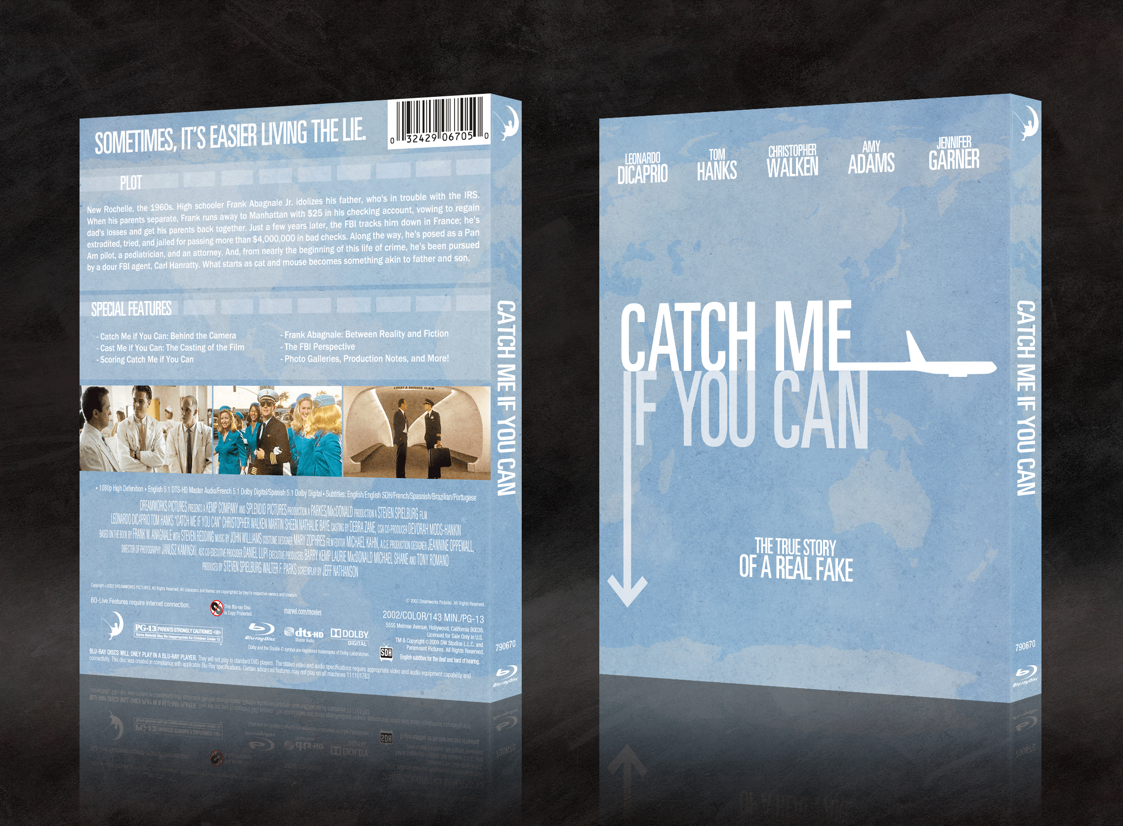 Catch Me If You Can box cover