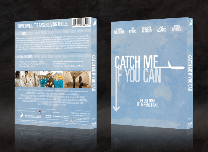 Catch Me If You Can box art cover
