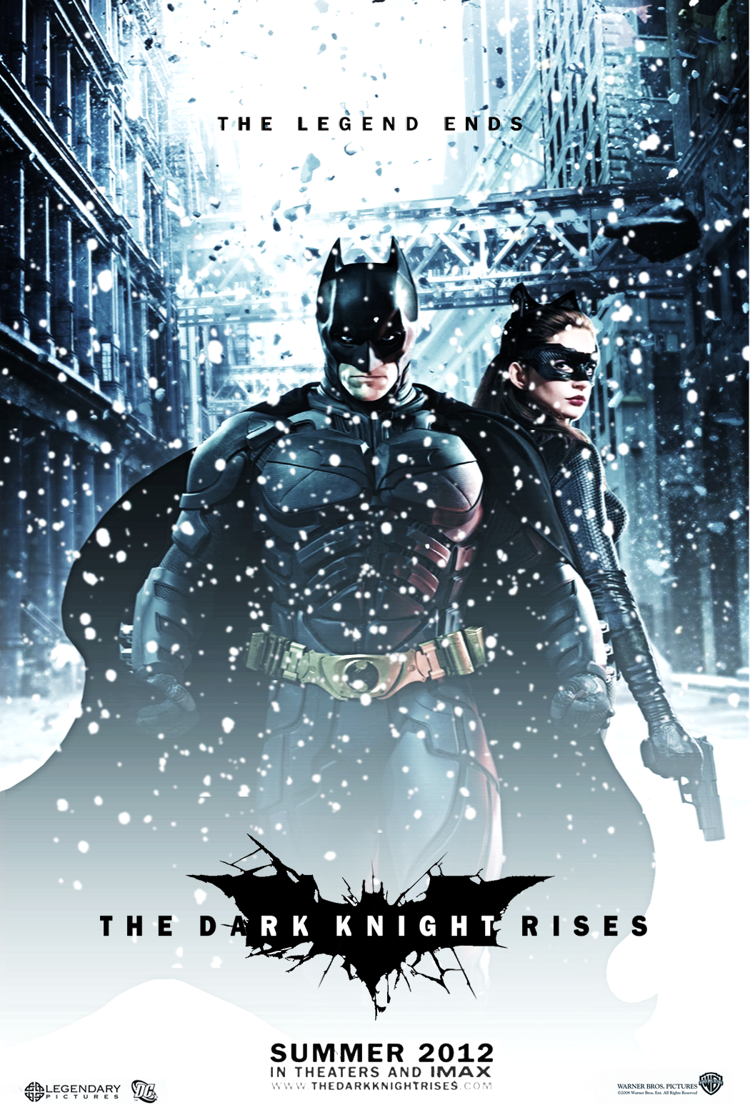 The Dark Knight Rises Alternate Poster box cover