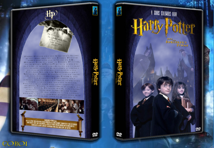 Harry Potter and the Sorcerer's Stone box art cover