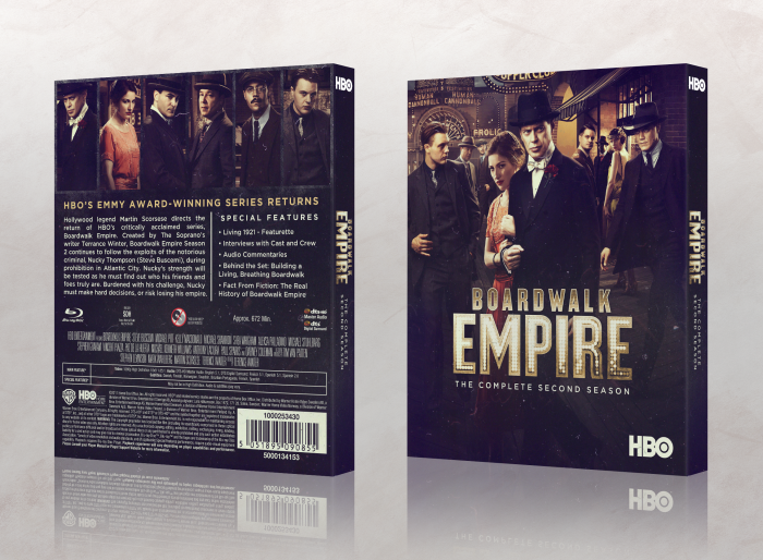 Boardwalk Empire: Season 2 box art cover