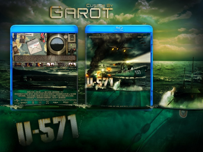U-571 box art cover
