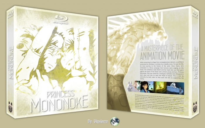 Princess Mononoke box art cover