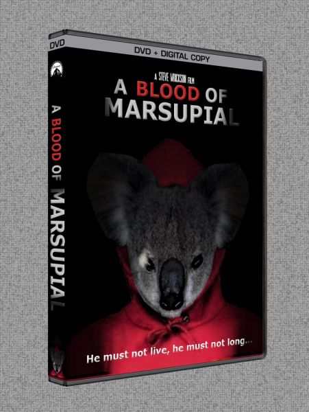 A Blood of Marsupial (2014) box cover
