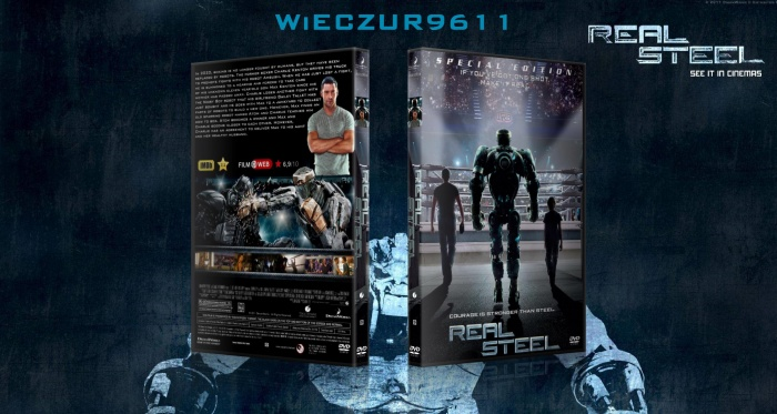Real Steel box art cover