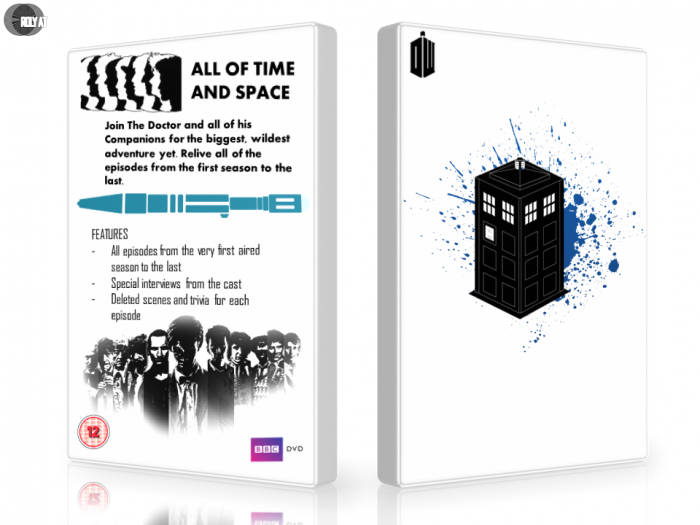 Doctor Who : The complete series box art cover