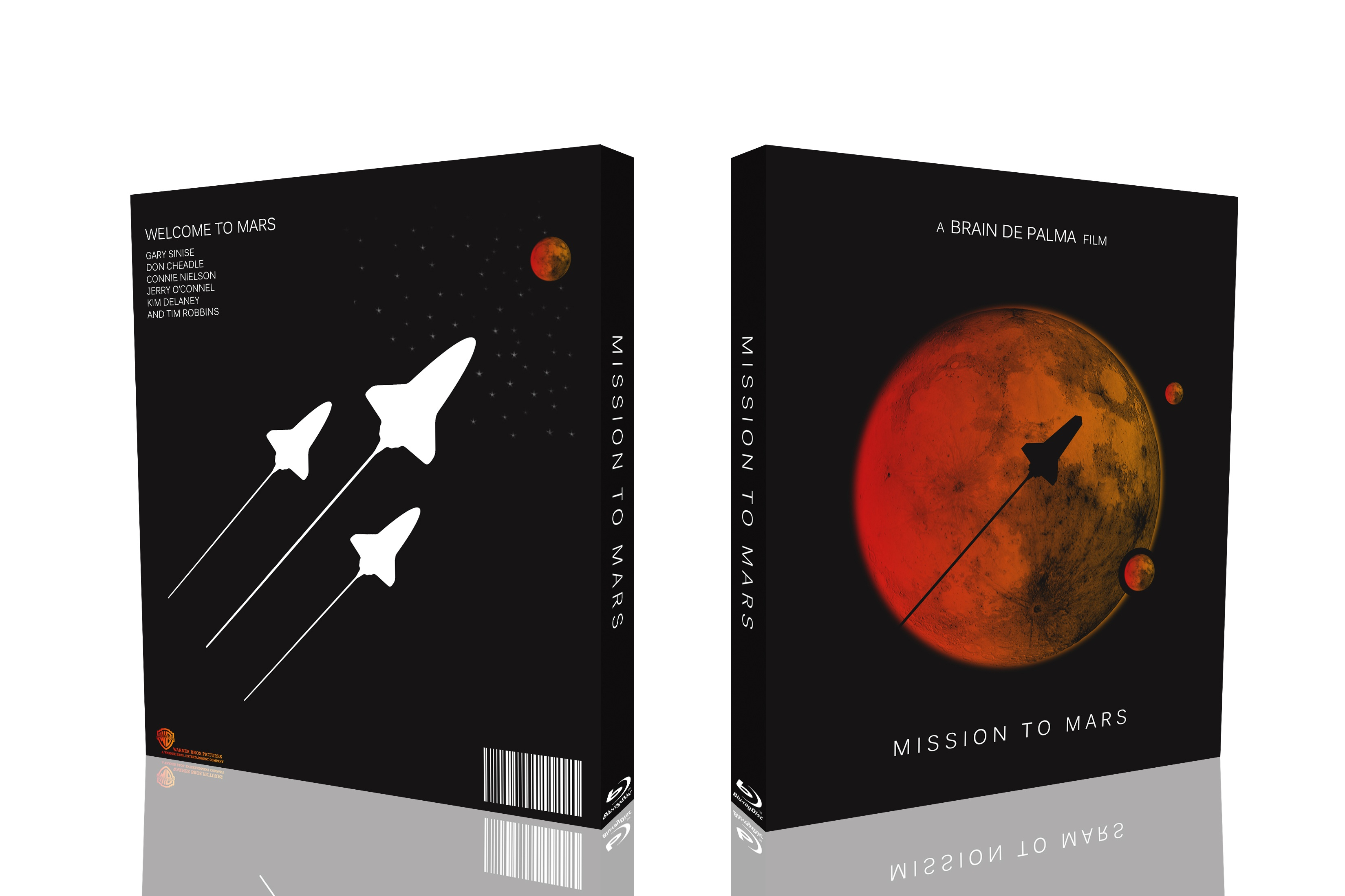 Mission To Mars box cover