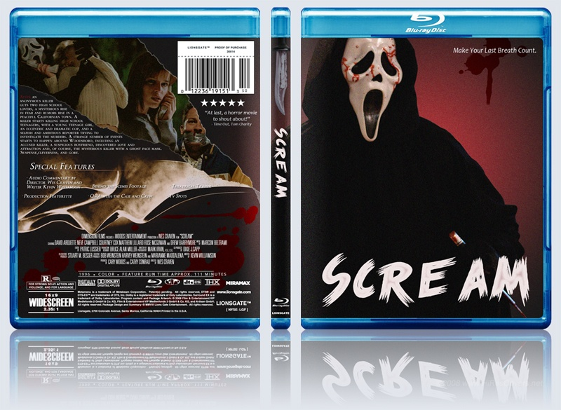 scream box cover