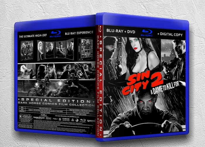 Sin City A Dame to Kill For box art cover
