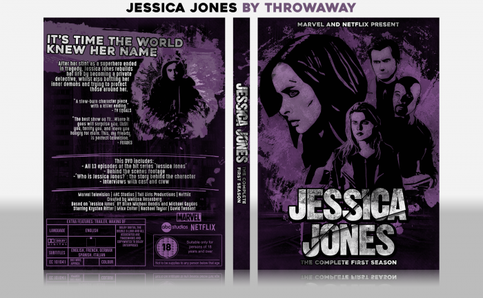 Jessica Jones box art cover