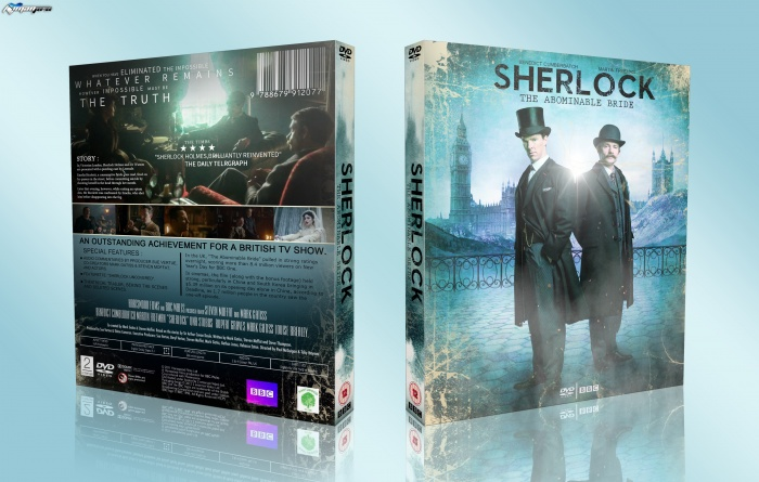 Sherlock The Abominable Bride box art cover