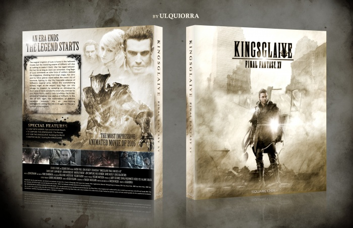 Kingsglaive Final Fantasy XV box art cover