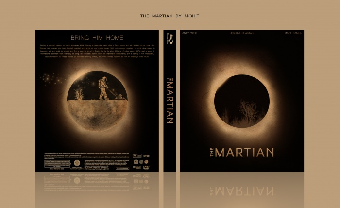 The Martian box art cover