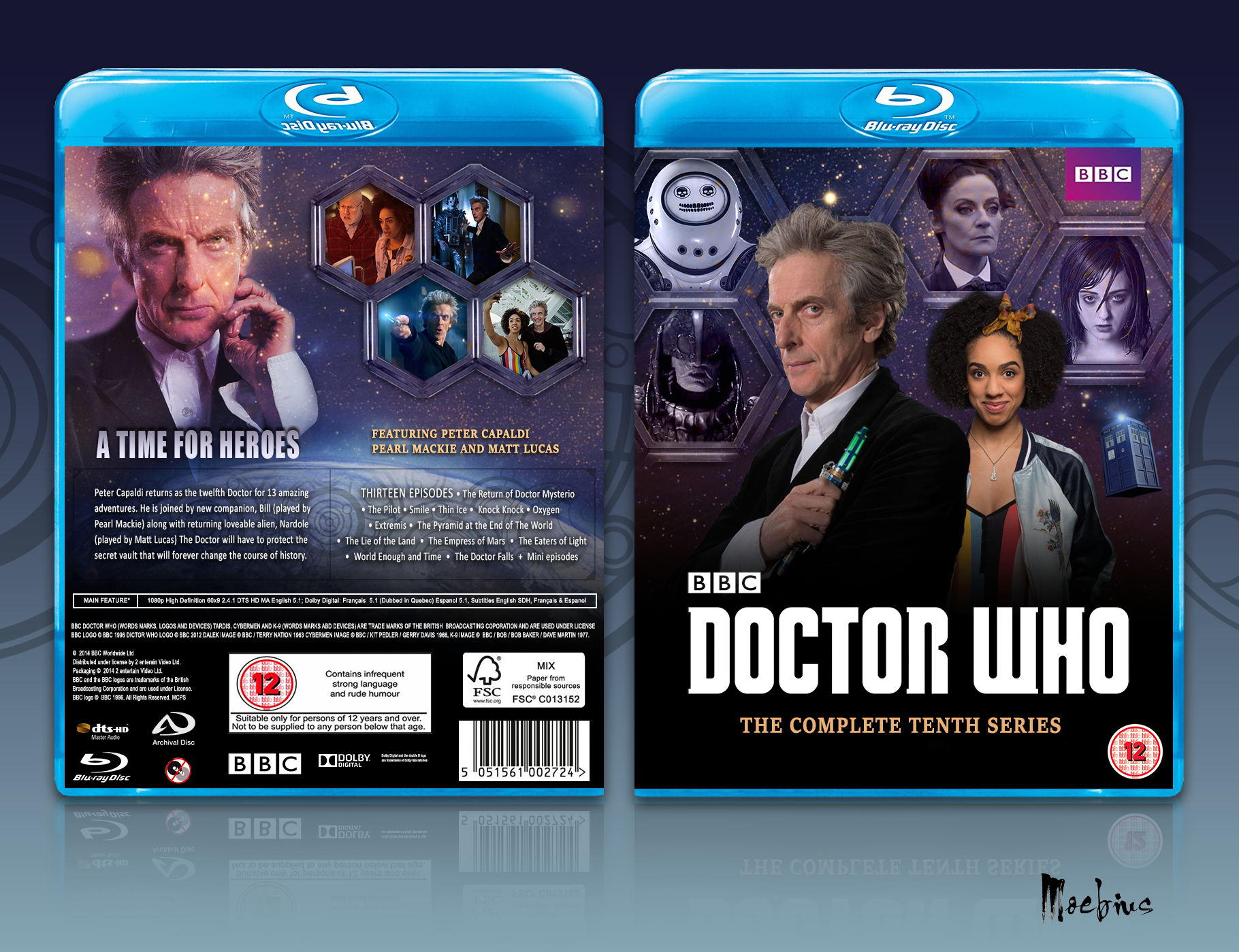Doctor Who Series 10 box cover