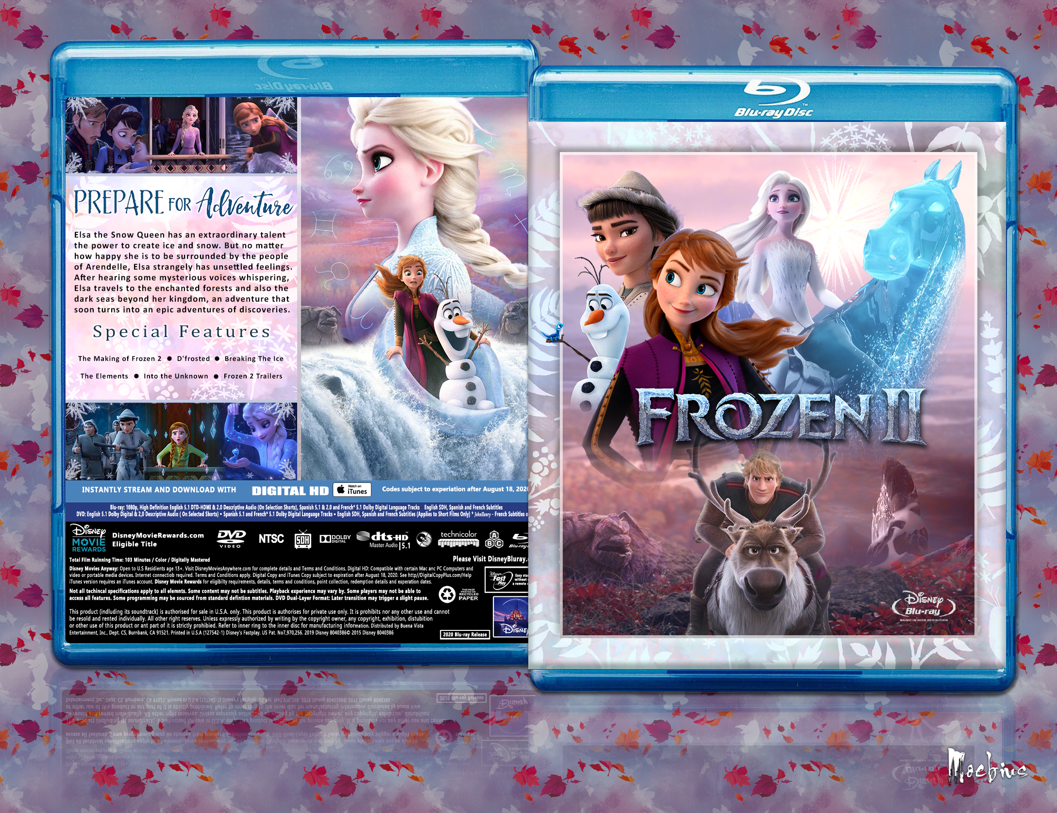 Frozen 2 box cover