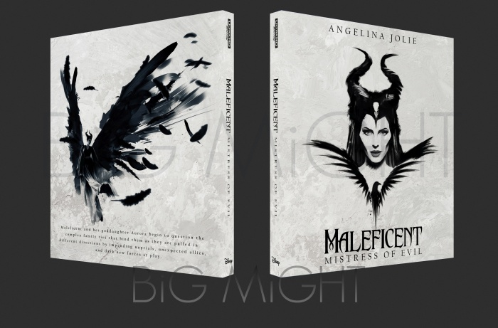 Maleficent Mistress of Evil box art cover