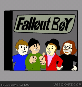 Fallout Boy box cover