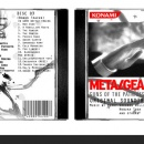 Metal Gear Solid 4 OST Box Art Cover