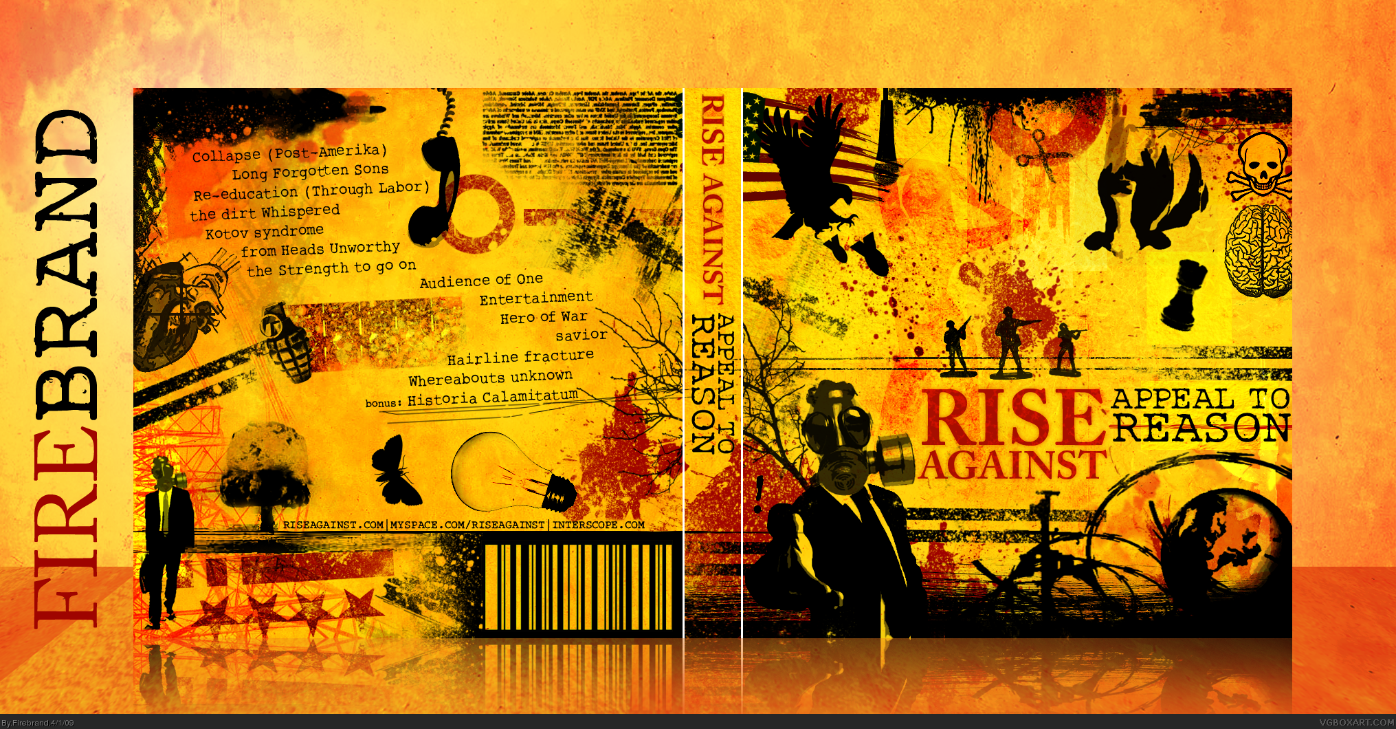Rise Against: Appeal to Reason box cover