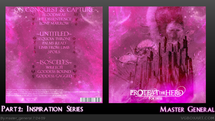 Protest the Hero: Fortress box art cover