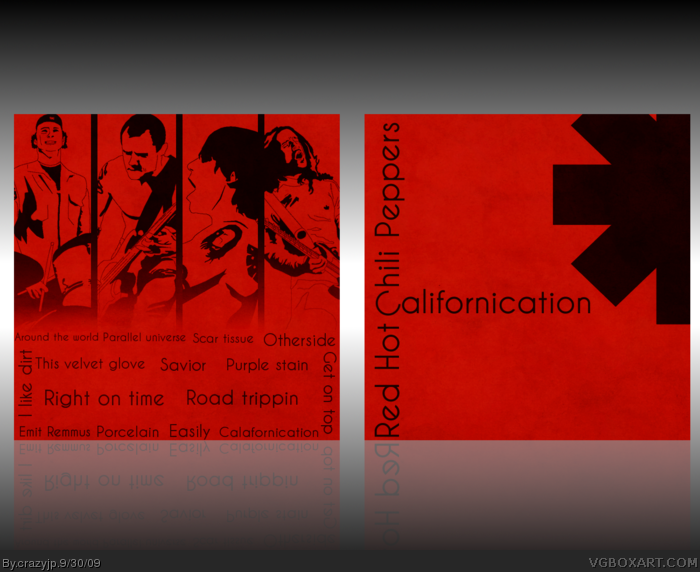 Red Hot Chili Peppers - Californication box art cover