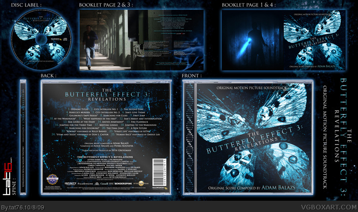 Butterfly Effect 3 (Soundtrack) box art cover