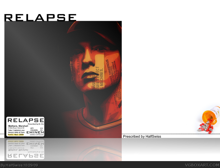 Eminem: Relapse box art cover