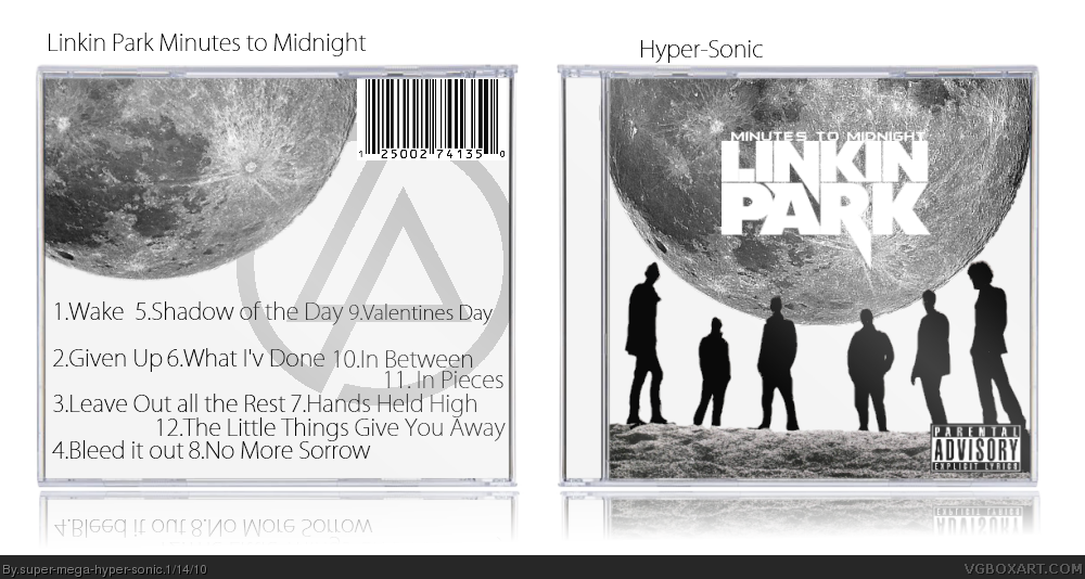 Linkin Park: Minutes to Midnight box cover