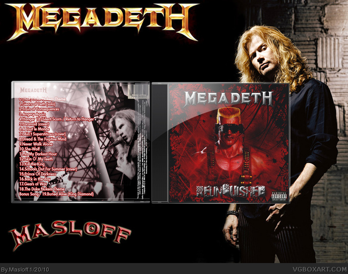 Megadeth Relinquished box art cover